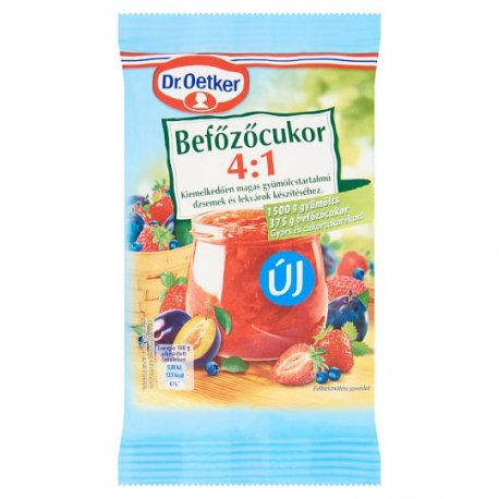 Dr. Oetker želírov.cukor 4:1 375 g
