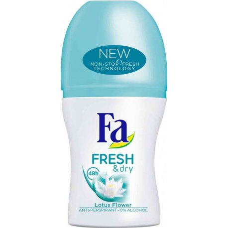 Fa Roll On Fresh Dry Lotus Flower 50 ml