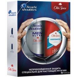 Head Shoulders šampón + Old Spice sprchový gél Whitewater 450 ml + 250 ml