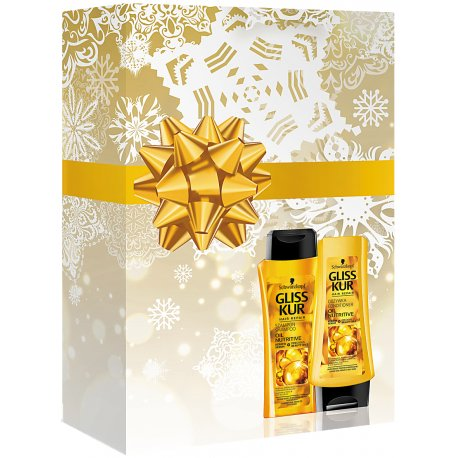 Gliss Kur Darčekova Sada šampón + kondicionér 250 ml + 200 ml