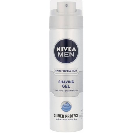 Nivea MN Silver Protect Gel po Holení 200 ml