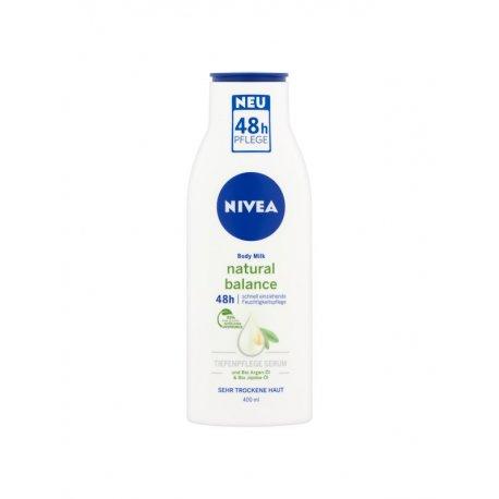 Nivea teľové mlieko Pure Natural Bio Argan 400ml