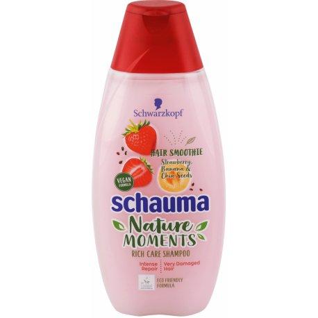 Schauma šampón Nature Moments Strawberry,Banana 250 ml