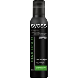 Syoss Pena na vlasy Max Hold 250 ml