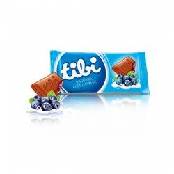Tibi čokoláda - mliečna čokoláda s čiernym ríbezlom  90 g