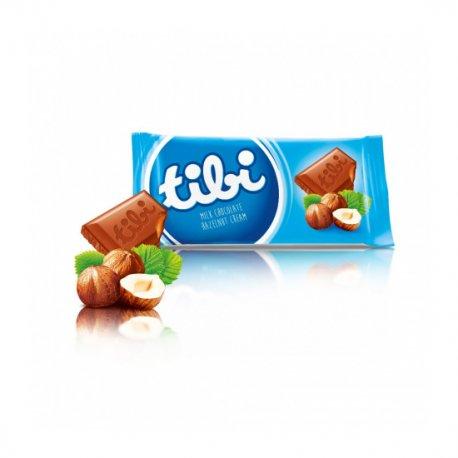 Tibi čokoláda 100 g - mliečna čokoláda s arašídami