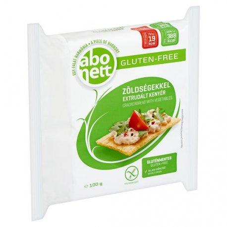 Abonett extrudovaný chlieb bezglut. so zeleninou - 100 g