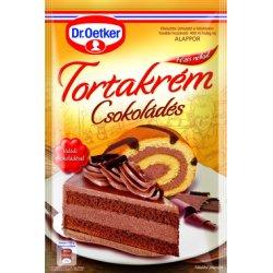 Dr. Oetker tortový krém 160 g - Čokoládový
