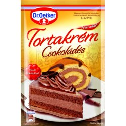 Dr. Oetker tortový krém  - Čokoládový 160g