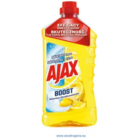 Ajax Boost univerzálny čistiaci prostriedok Baking Soda a Lemon 1 l