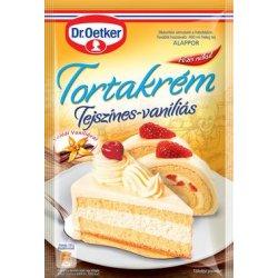 Dr. Oetker tortový krém - Vanilkovo-smotanový 130g