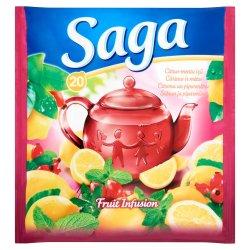 Saga čaj Citrus - menta 34 g