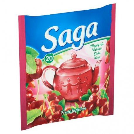 Saga čaj višńa 34 g