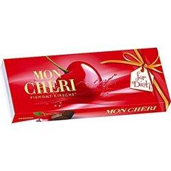 Mon Chéri Čokoládové bonbóny plnené celou čerešňou v likéri T10  105g