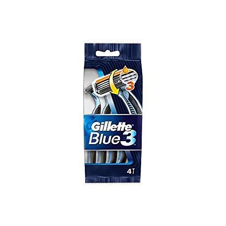 Gillette Blue 3 Simple Holiaci Strojček 4 + 1 ks