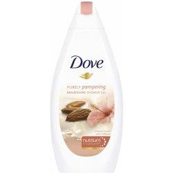 Dove Purely Pampering Mandlový krém a ibišek sprchový gél 500 ml