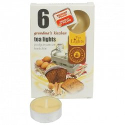 Admit Tea Lights Grandmas kitchen  6 x 12 g