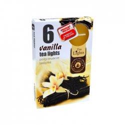 Admit Tea Lights Vanilla 6 x 12 g