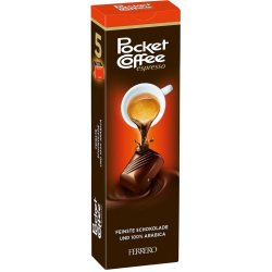 Ferrero Pocket Coffee 5 ks 62,5 g