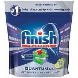 Finish Powerball Quantum Max Apple Lime Blast tablety do umývačky riadu 36 ks 558 g