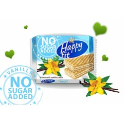 Happy fit napolitanka no sugar added vanilka  95 g