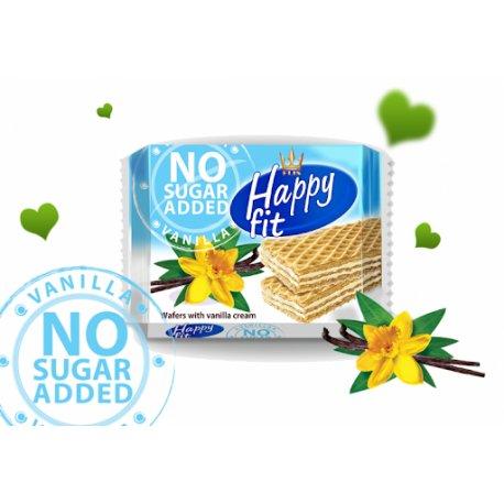Happy fit napolitanka no sugar added vanilka  95 g