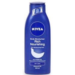 Nivea teľové mlieko Rich Nourishing na extra suchú pokožku 400ml