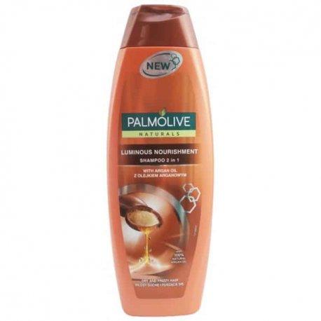 Palmolive sampon Luminous Nourishment 2 in 1argan oil  350 ml
