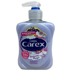 Carex antibakterialne detske  tekute mydlo Unicorn magic  333 ml