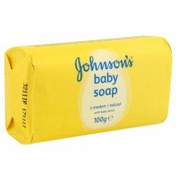 Johnson & Johnson Baby Mydlo Med 100 g