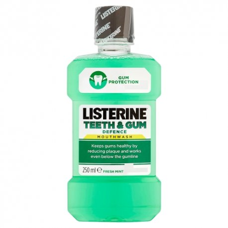 Listerine Teeth & Gum Defence Mouthwash Fresh Mint 250ml