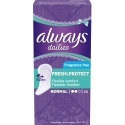 Always dailies Fresh protect 20ks