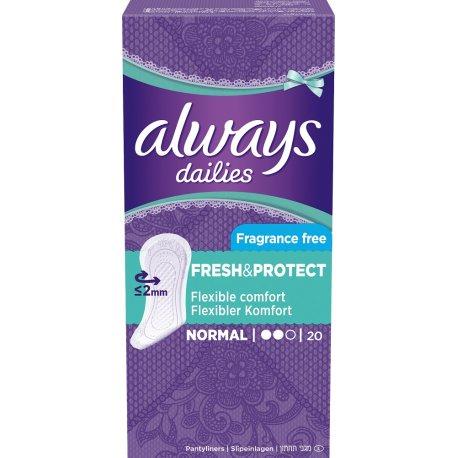 Always dailies Fresh protect 20ks
