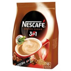 Nestlé NESCAFÉ 3in1 Brown Sugar  10 x 16,5 g