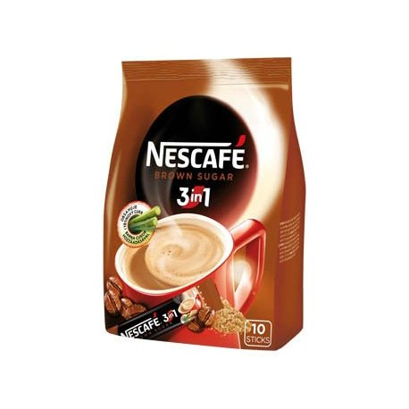 Nestlé NESCAFÉ 3in1 Brown Sugar  10 x 16,5 g