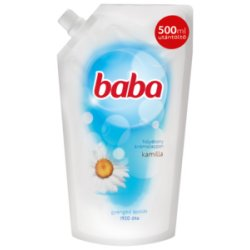 Baba tekuté mydlo náhradná náplň kamila 500ml