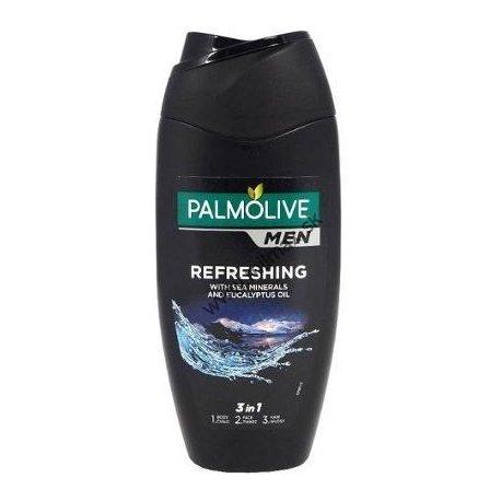 Palmolive Men Refreshing 3 v 1 sprchový gél pre telo, tvár a vlasy 250 ml