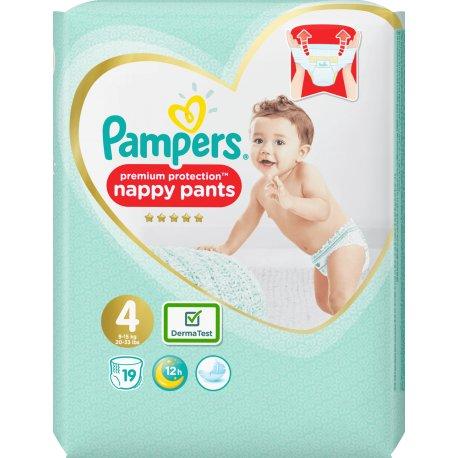 Pampers Premium Care Pants plienkové nohavičky S4 (9-15kg) 19ks