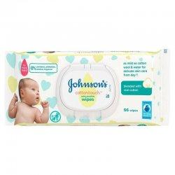 JOHNSON'S BABY Extra Sensitive vlhčené utierky 56 ks