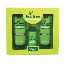 Xpe Tea Tree šampon na vlasy 100 ml + kondicioner na vlasy 100 ml + vlasové sérum 30 ml darčeková sada