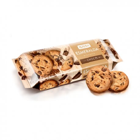 Roshen Esmeralda sušienky s Čokoládovými  kúskami 150g