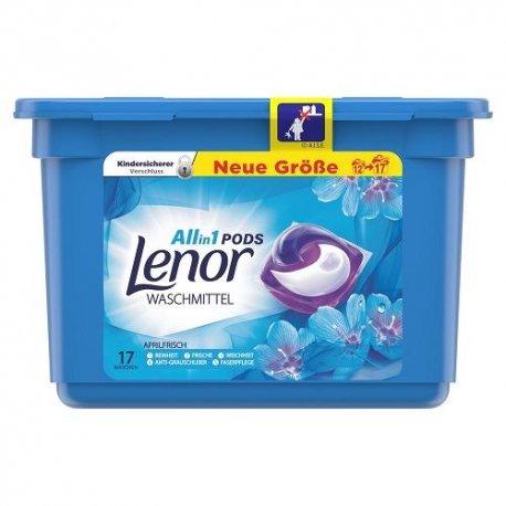 Lenor Waterlily kapsle na praní 17 ks