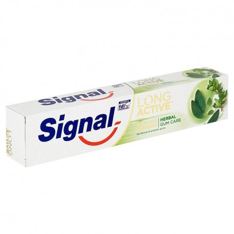 Signal zubná pasta Long Active Elements Herbal Gum Care 75ml