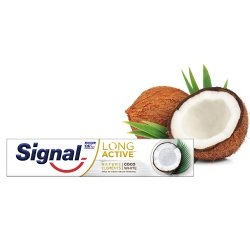Signal Long Active Elements Coco White zubná pasta 75 ml