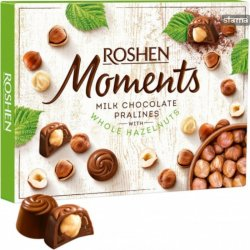 Dezert Roshen Moments Milk Chocolates Whole Hazelnuts 116g