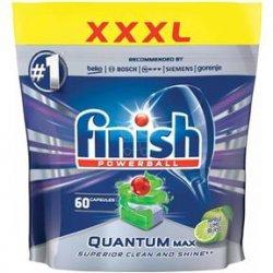 Finish Powerball Quantum Max tablety do umývačky riadu apple lime  60 ks