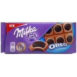 Milka Oreo Sandwich mliečna čokoláda a sušienky 92 g