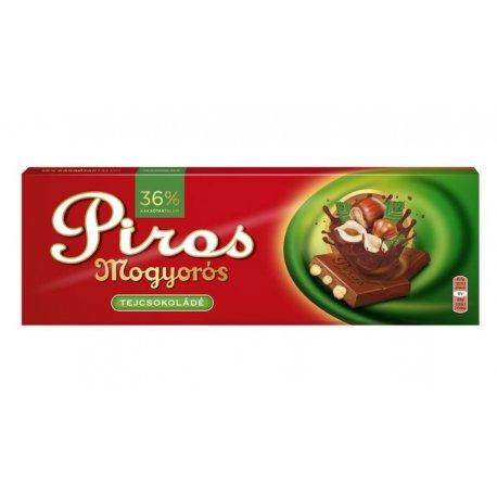 Piros Mogyorós čokoláda mliečna 250 g