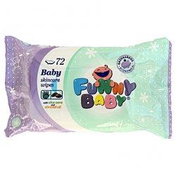 Funny baby vlhčené utierky 72 ks