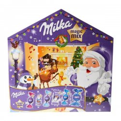 Milka Magic Mix adventný kalendár 204 g